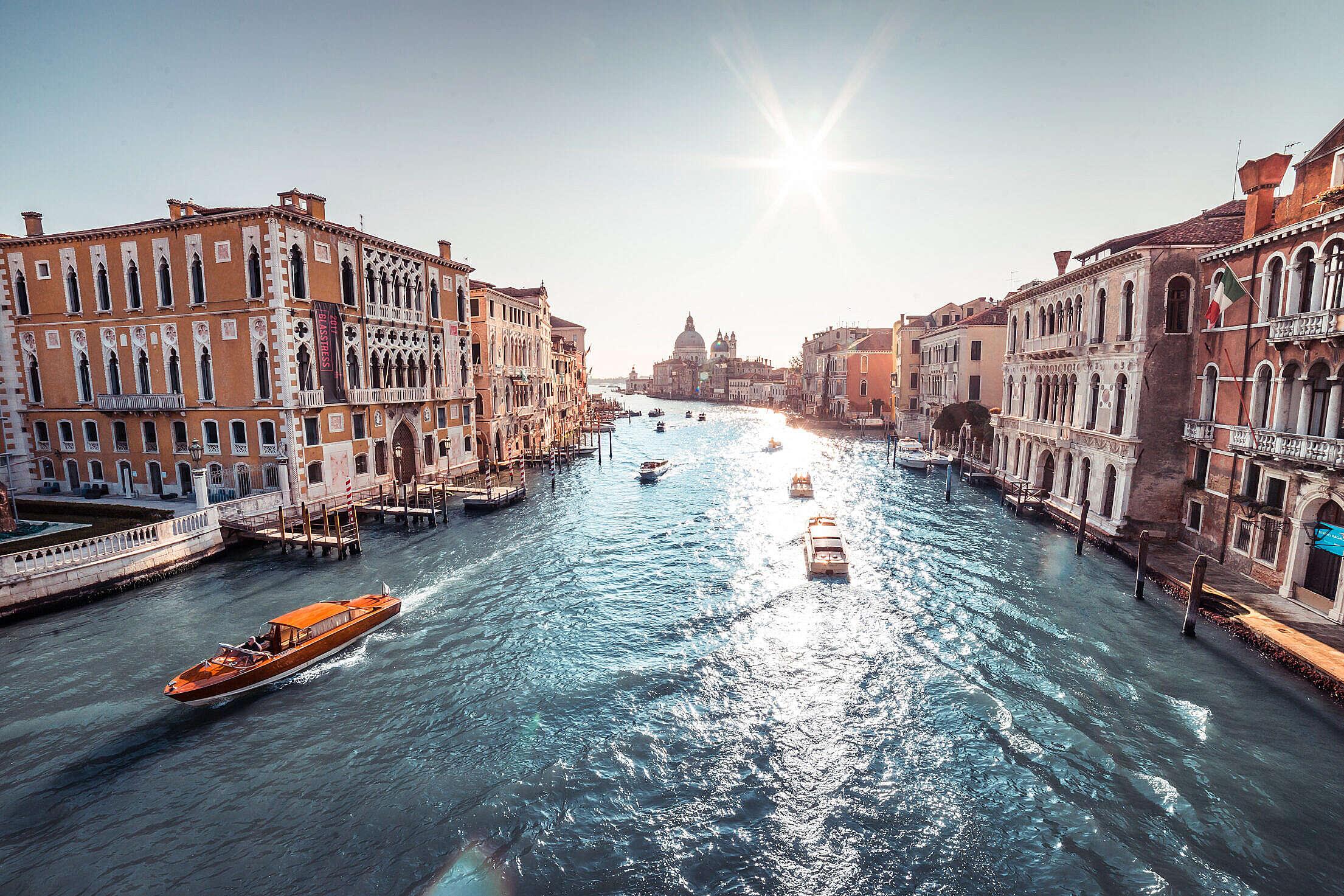 Venice Canal Grande Free Stock Photo