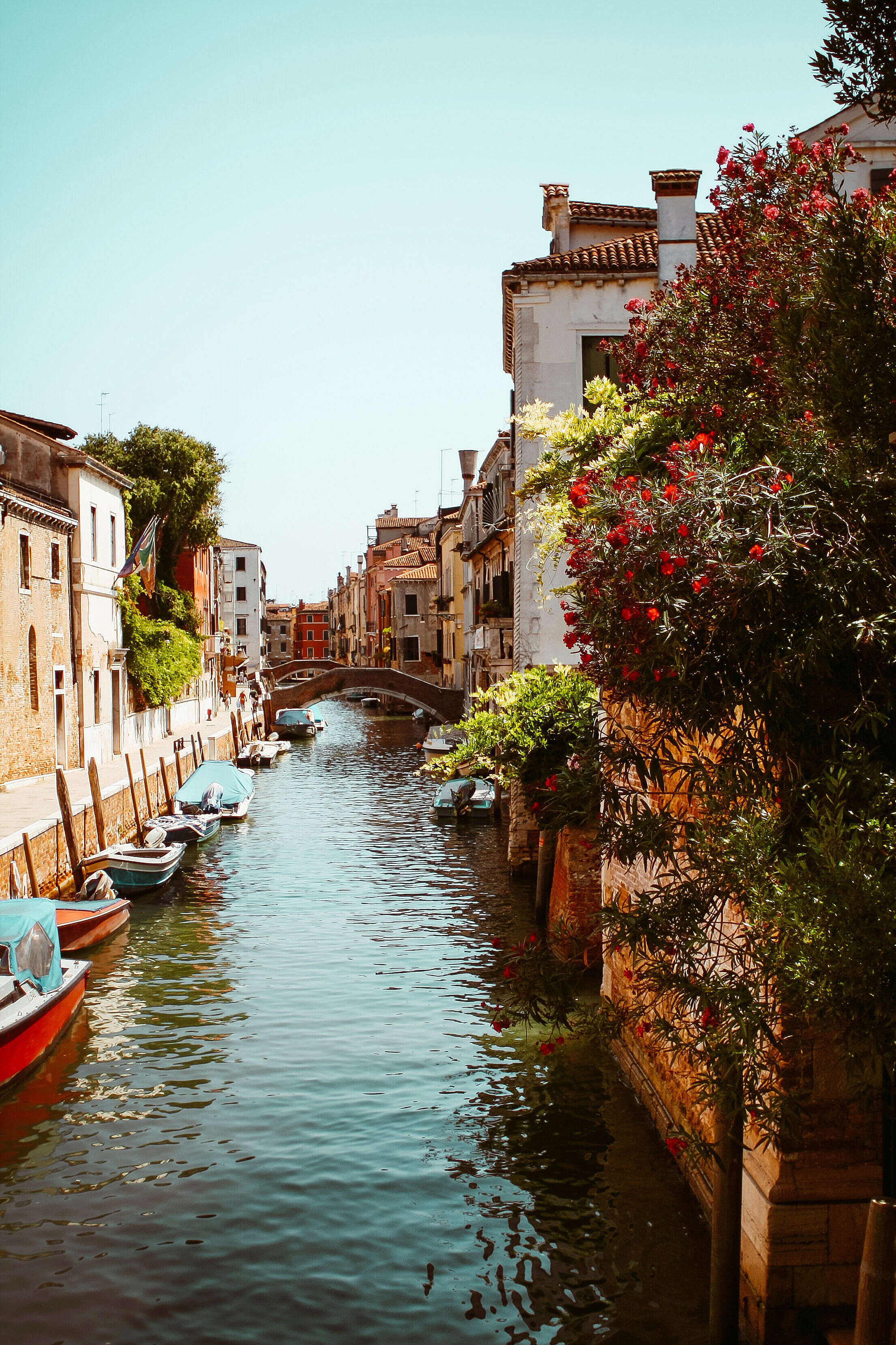 Venice Canals, Italy Free Stock Photo