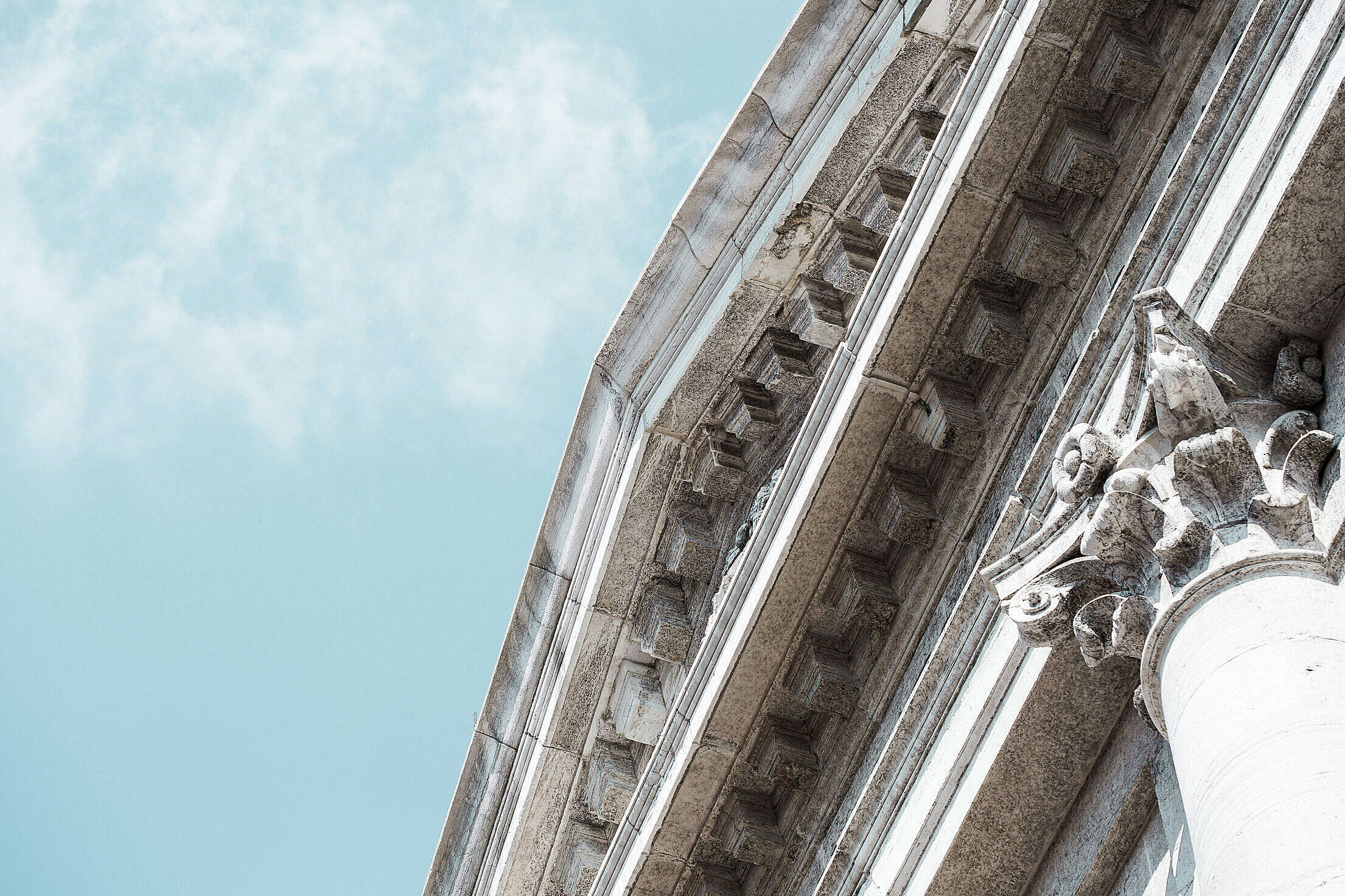 Venice Cathedral Architecture Detail Free Stock Photo