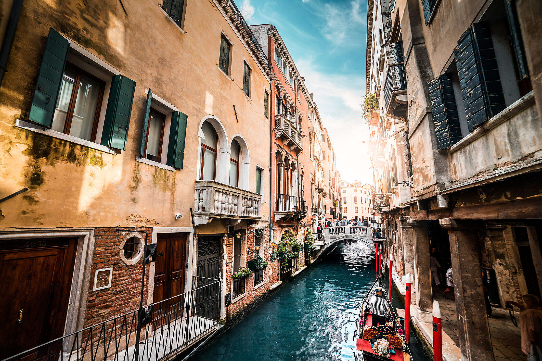Download Venice Streets and Canals Free Stock Photo