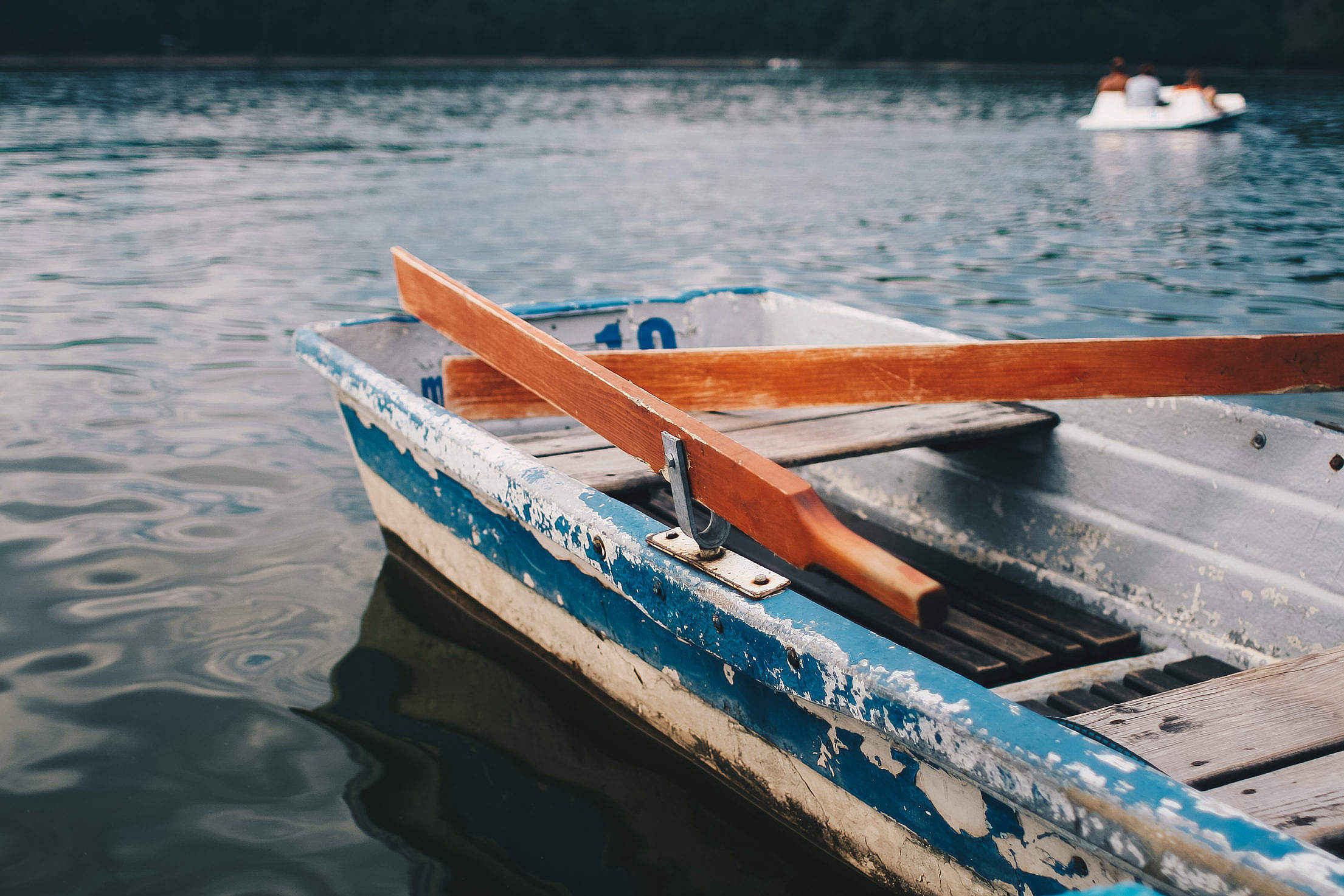 Very Old Rowboat Free Stock Photo