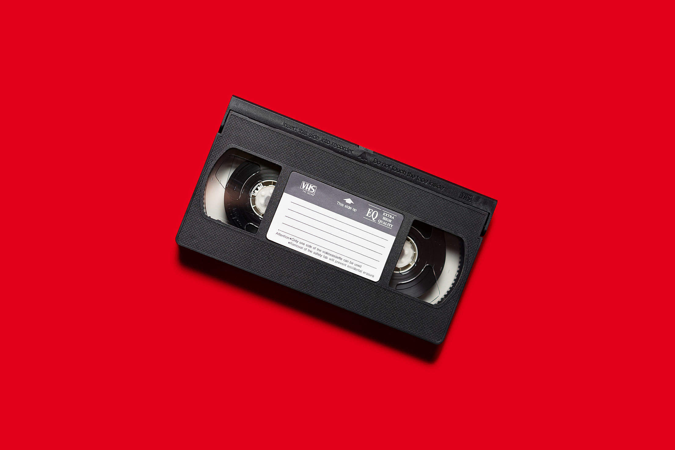 VHS Old Video Cassette Free Stock Photo
