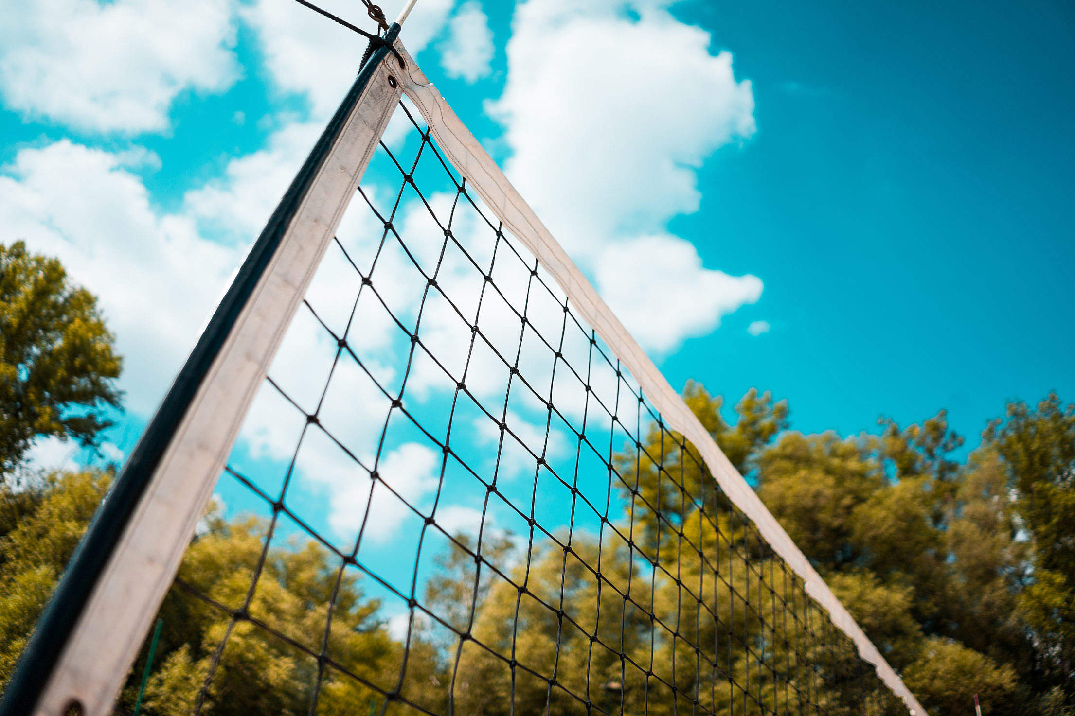 Volleyball Net Free Stock Photo