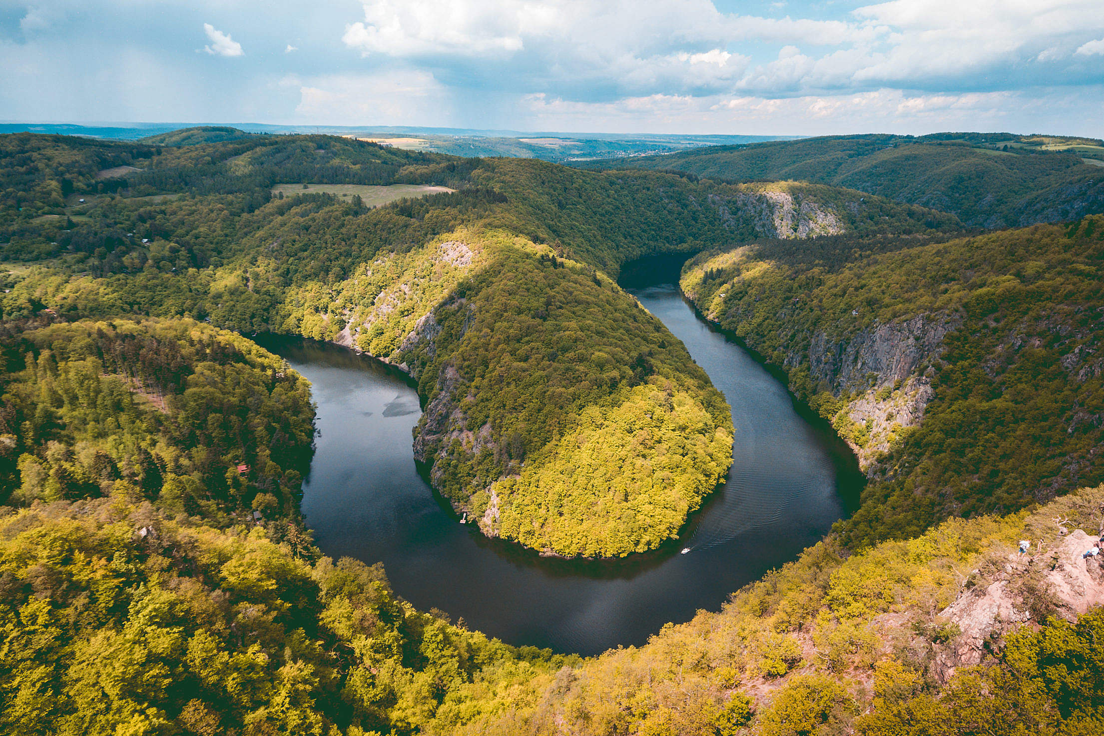 Vyhlidka Maj Czech Natural Look-Out Viewpoint #2 Free Stock Photo
