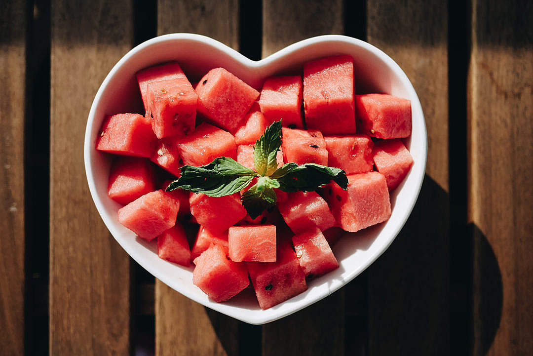 Download Watermelon Fresh Summer Breakfast FREE Stock Photo
