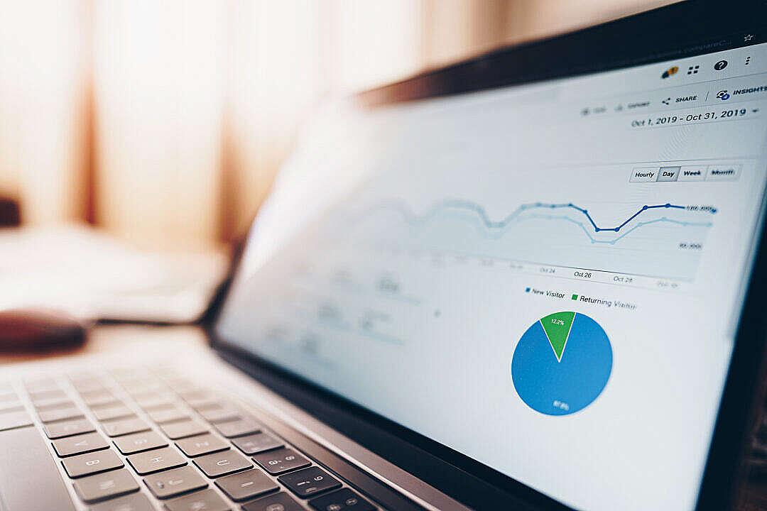 Download Website Traffic Data Analytics FREE Stock Photo