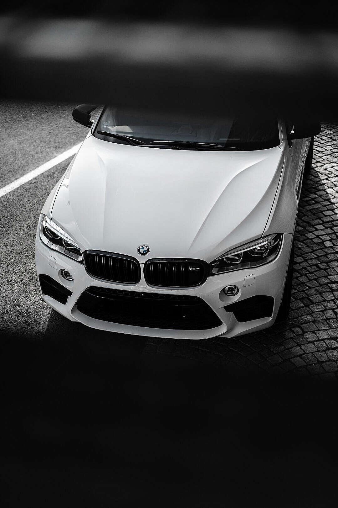 Download White BMW X6M Wallpaper FREE Stock Photo