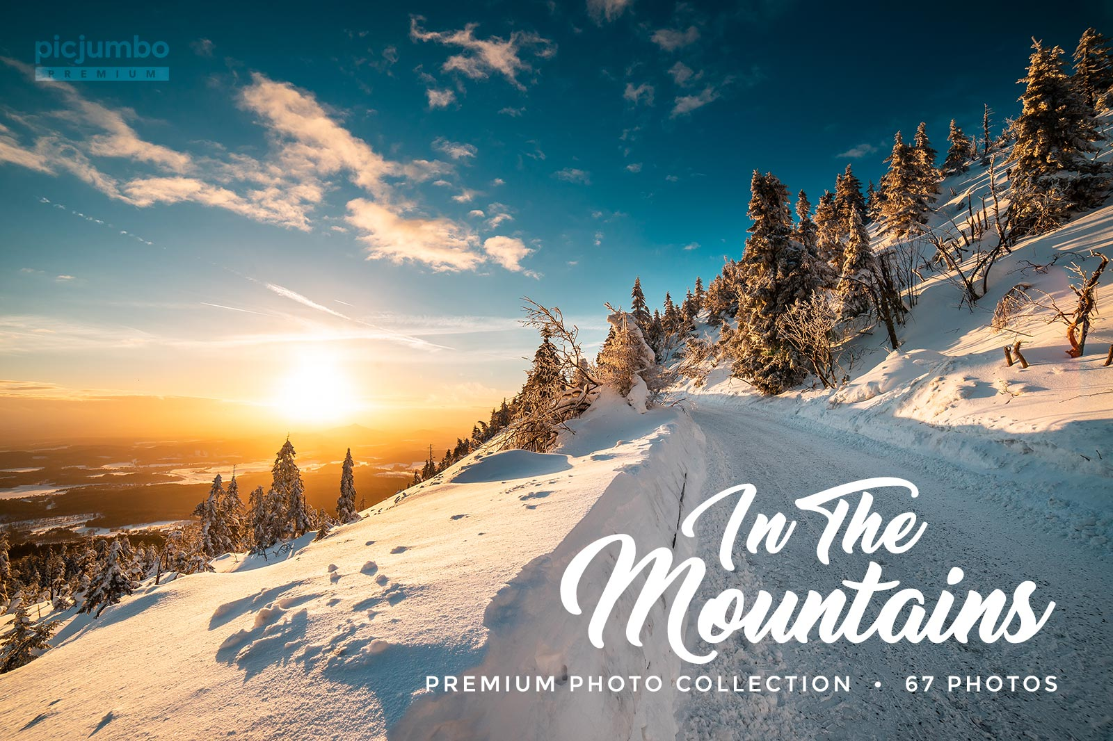 In The Mountains stock photo collection