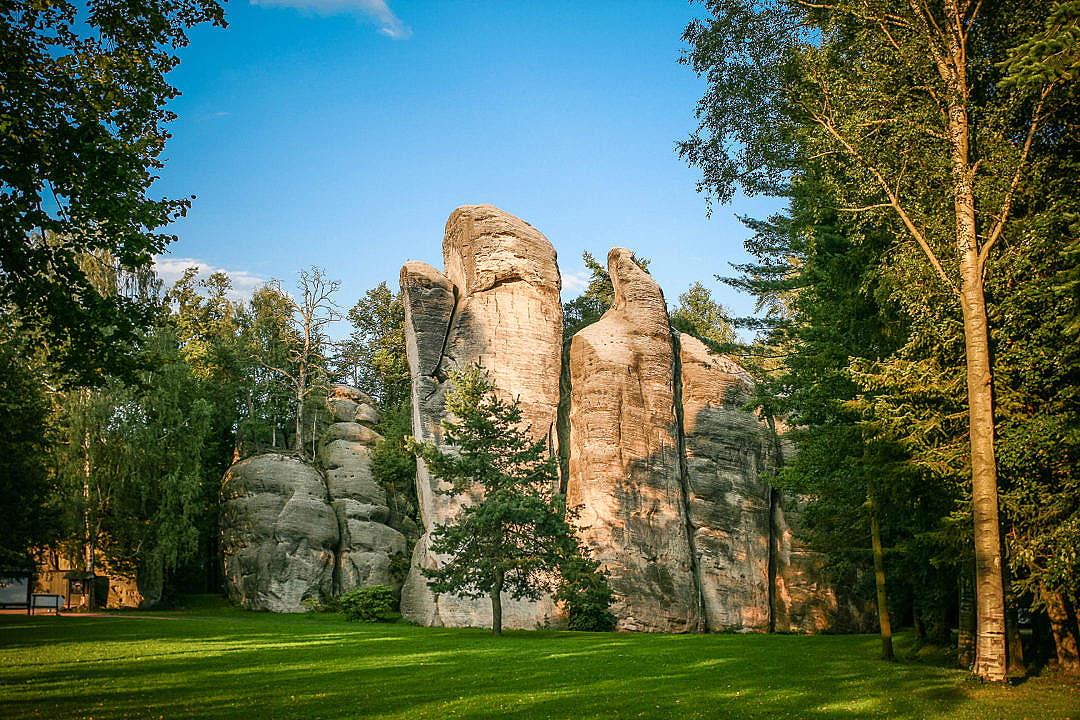 Download Wonderful Adrspach-Teplice Rocks FREE Stock Photo