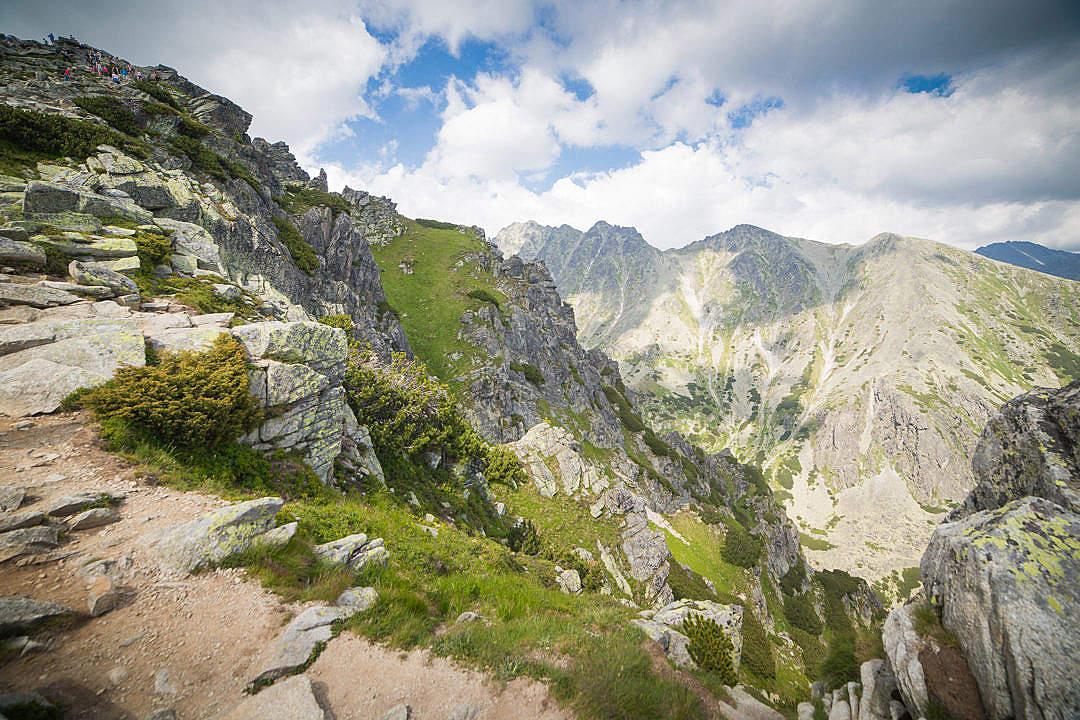 Download Wonderful High Tatras Mountains in Slovakia FREE Stock Photo
