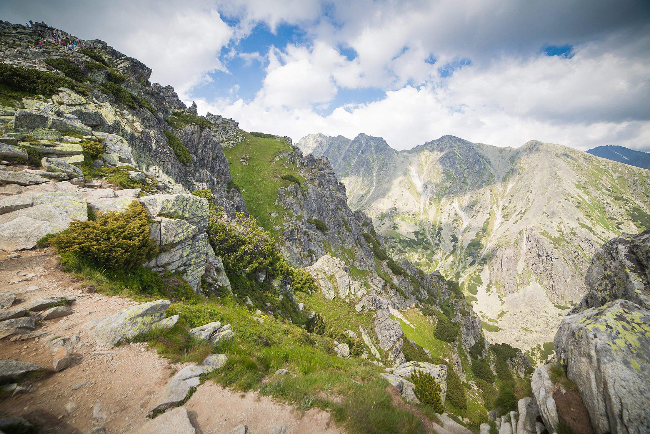 Wonderful High Tatras Mountains in Slovakia Free Stock Photo