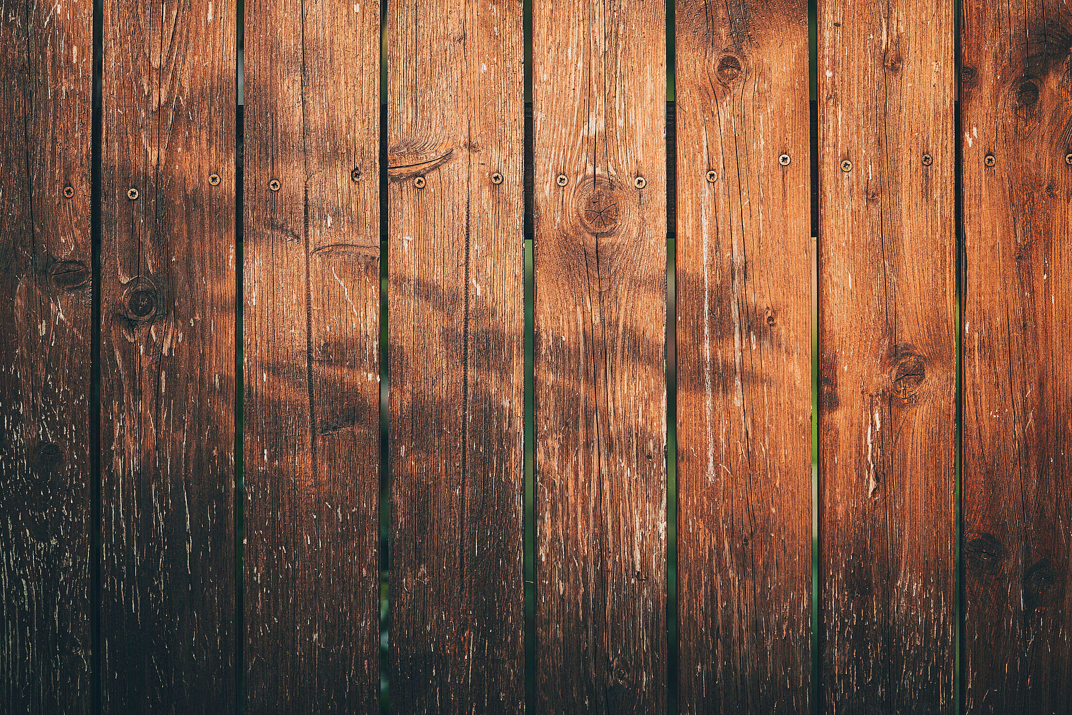 Wooden Fence Background Free Stock Photo