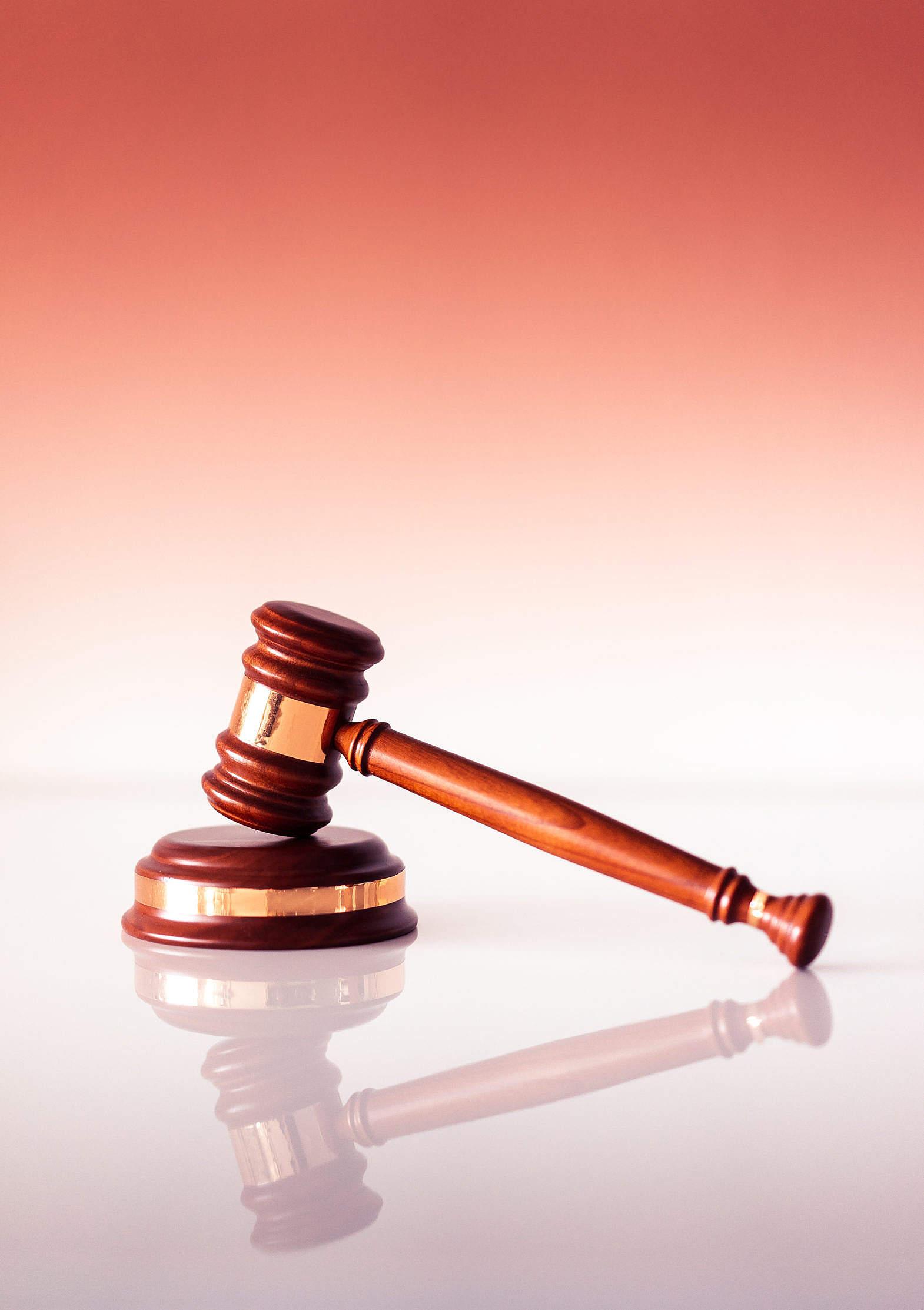 Wooden Judge's Gavel Free Stock Photo   picjumbo
