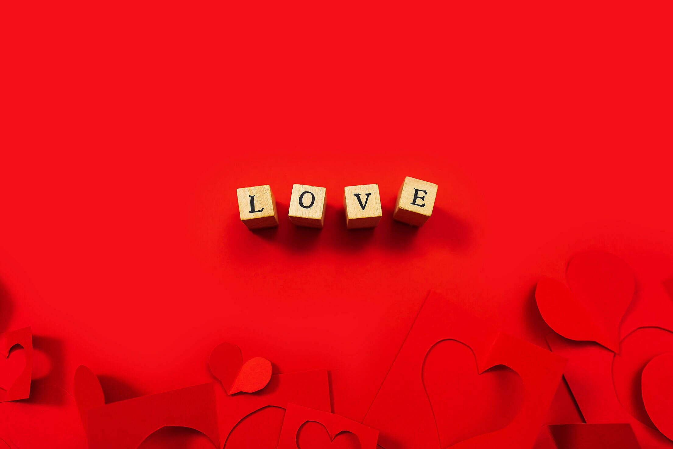 Word Love Free Stock Photo