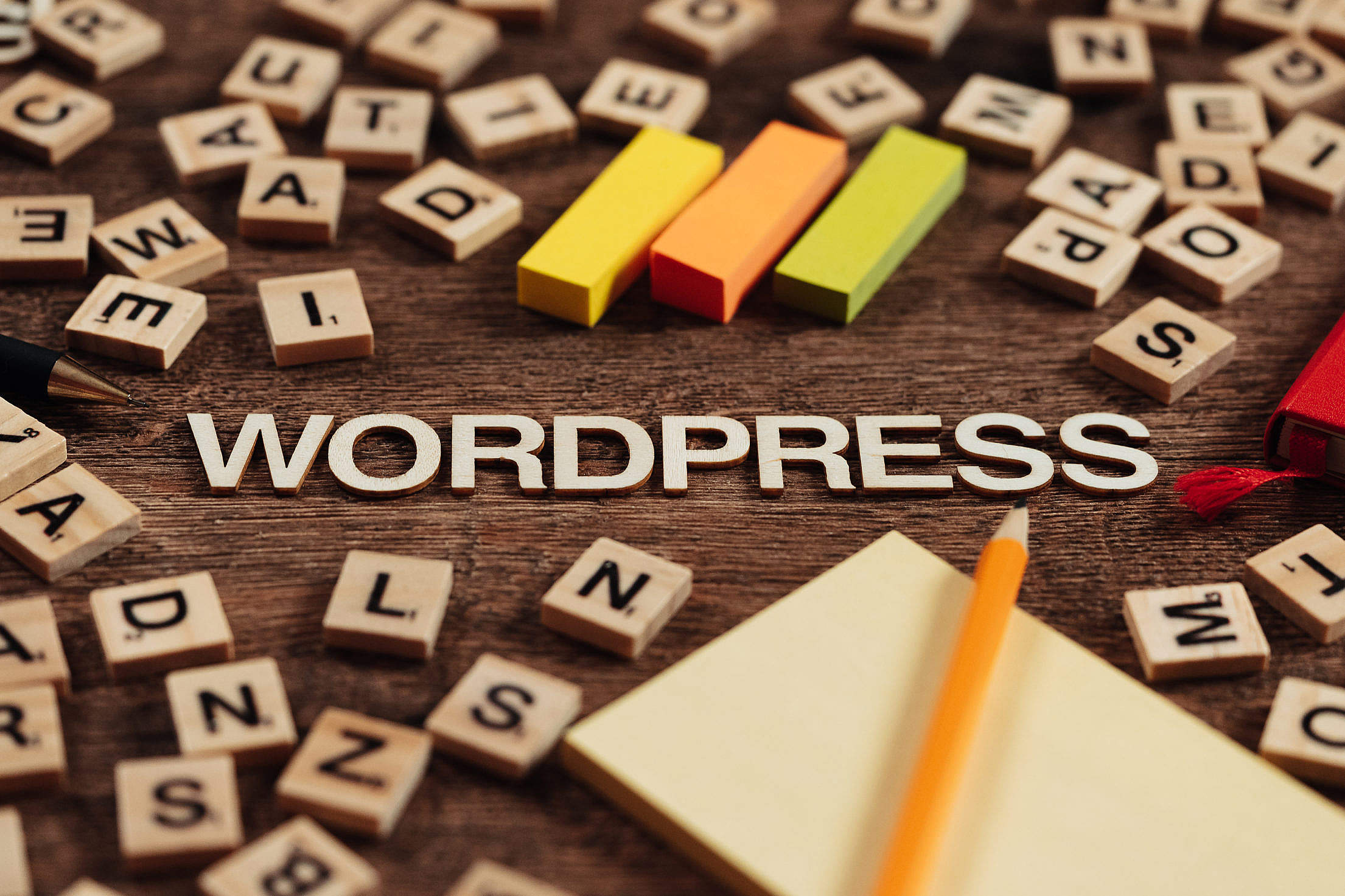 WordPress Free Stock Photo