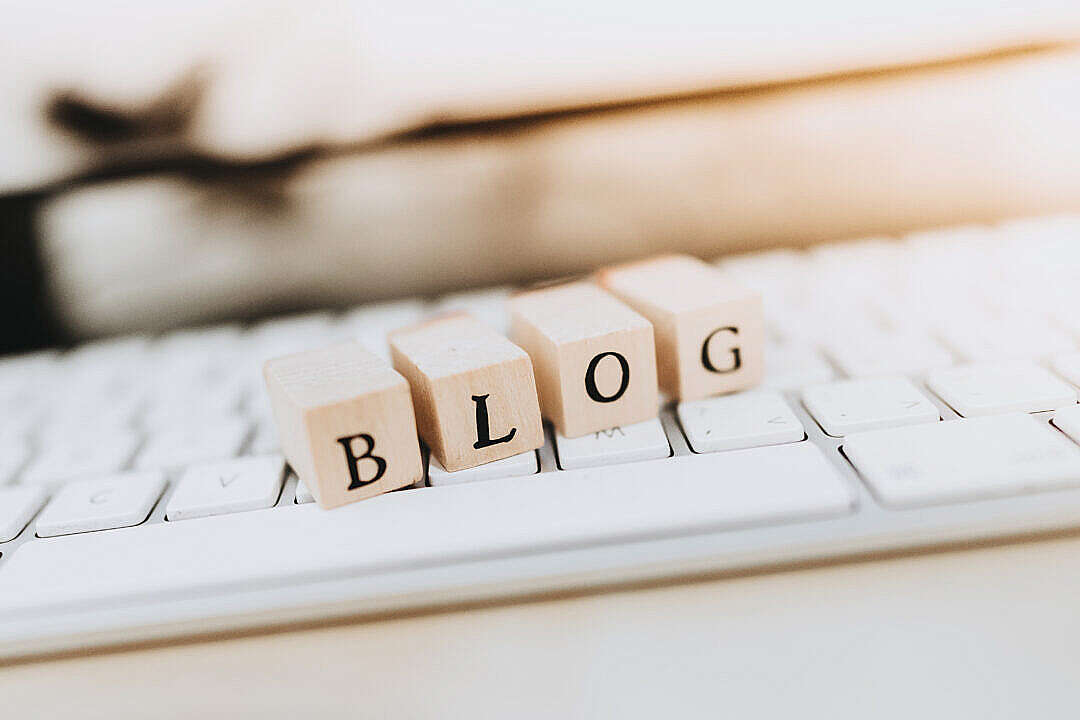 Download Writing a Blog FREE Stock Photo