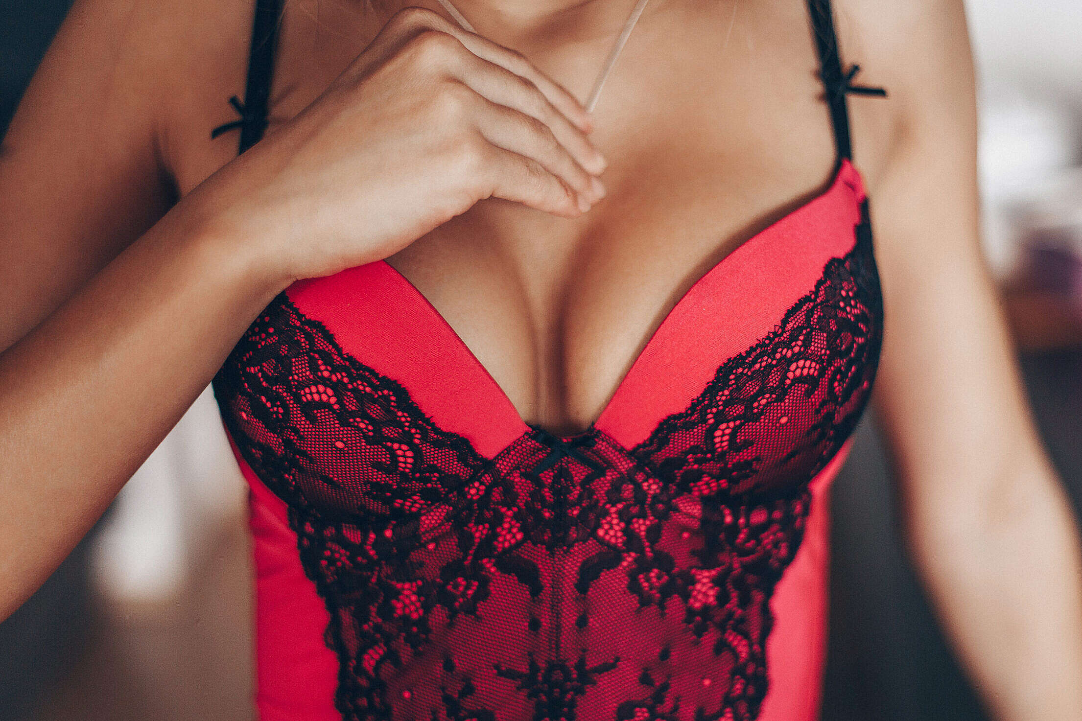 Young Sexy Woman in Corset Free Stock Photo