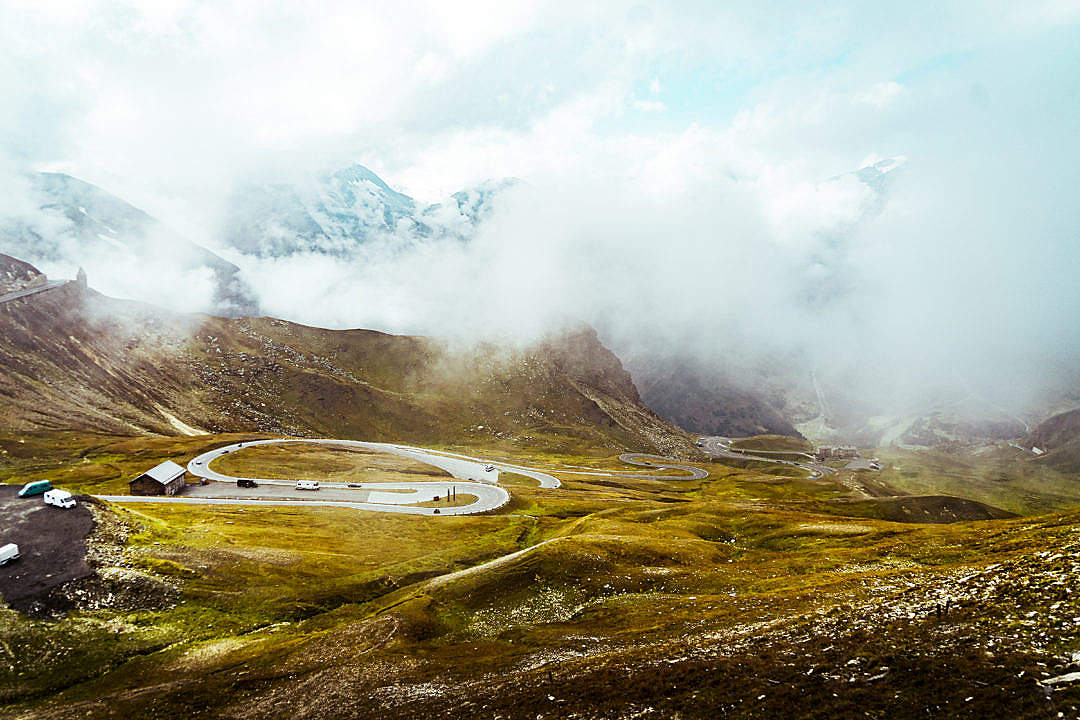 Download Zigzag Part of The Grossglockner Road FREE Stock Photo